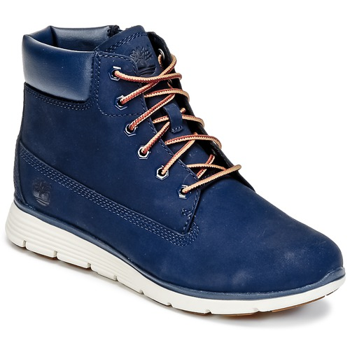Schoenen Kinderen Laarzen Timberland KILLINGTON 6 IN Blauw