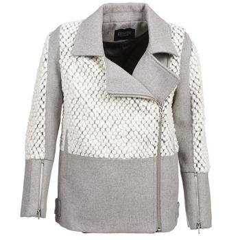 Textiel Dames Mantel jassen Eleven Paris FLEITZ Grijs / Beige