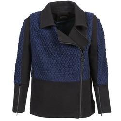 Textiel Dames Wind jackets Eleven Paris FLEITZ Zwart / Blauw