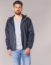 Textiel Windjacken K-Way LE VRAI CLAUDE 3.0 Marine