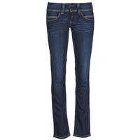 Textiel Dames Straight jeans Pepe jeans VENUS Blauw / H06