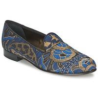 Schoenen Dames Mocassins Etro 3046 Zwart / Blauw