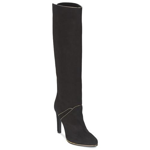 Schoenen Dames Hoge laarzen Etro 3119 Zwart / Goud