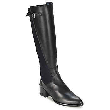 Schoenen Dames Hoge laarzen Stephane Gontard GIOVANI Zwart