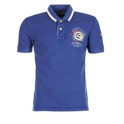 Textiel Heren Polo's korte mouwen Napapijri GANDYS Blauw