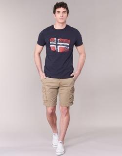 Textiel Heren Korte broeken / Bermuda's Napapijri NON Beige