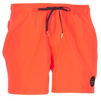 Textiel Heren Zwembroeken/ Zwemshorts Quiksilver EVERYDAY SOLID VOLLEY 15 Rood