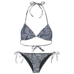 Textiel Dames Bikini's Roxy DOLTY Zwart / Wit