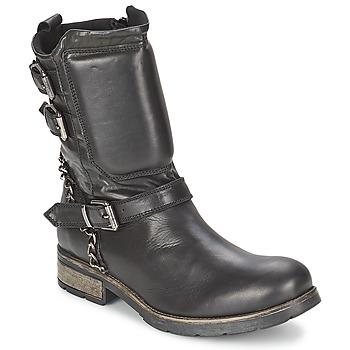 Schoenen Dames Laarzen Casual Attitude SERIS Zwart
