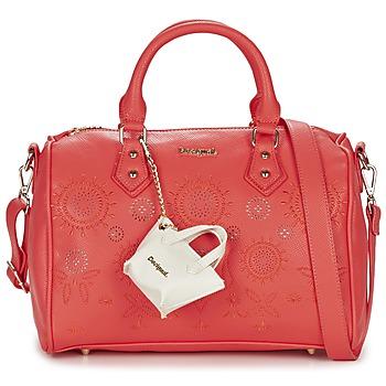Tassen Dames Handtassen kort hengsel Desigual BOWLING VANESA Roze