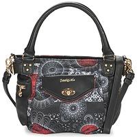 Tassen Dames Handtassen kort hengsel Desigual MCBEE MINI BARBADOS Zwart / Grijs / Rood