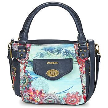 Tassen Dames Handtassen kort hengsel Desigual MCBEE MINI  KOTAO Marine / Multikleuren
