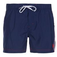 Textiel Heren Zwembroeken/ Zwemshorts U.S Polo Assn. AXEL SWIM TRUNK MED Marine