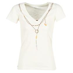Textiel Dames T-shirts korte mouwen Oxbow TWIN Wit