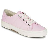 Schoenen Dames Lage sneakers Lauren Ralph Lauren JOLIE SNEAKERS VULC Roze
