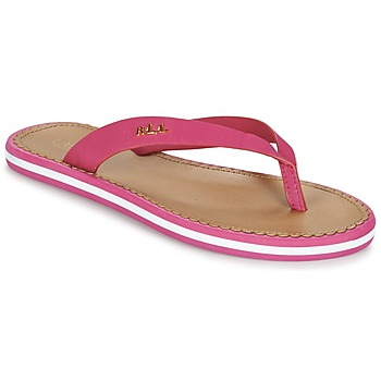 Schoenen Dames Slippers Ralph Lauren RYANNE SANDALS CASUAL Roze