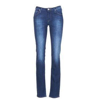 Textiel Dames Straight jeans Lee MARION STRAIGHT Blauw / Medium