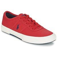 Schoenen Heren Lage sneakers Ralph Lauren TYRIAN Rood