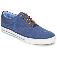 Schoenen Heren Lage sneakers Ralph Lauren VAUGHN Blauw