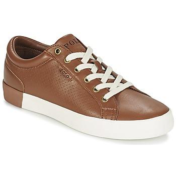 Schoenen Heren Lage sneakers Ralph Lauren ALDRIC II Brown