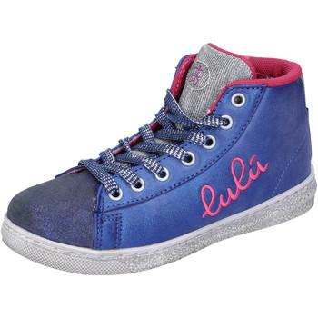 Schoenen Meisjes Hoge sneakers Lulu Baskets AH227 Bleu