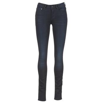 Textiel Dames Skinny Jeans G-Star Raw 3301 HIGH SKINNY Blauw