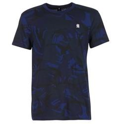 Textiel Heren T-shirts korte mouwen G-Star Raw HOYN Marine / Blauw