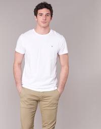 Textiel Heren T-shirts korte mouwen Gant THE ORIGINAL T-SHIRT Wit