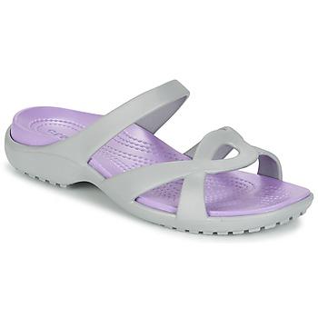 Schoenen Dames Sandalen / Open schoenen Crocs MELEEN TWIST Grijs