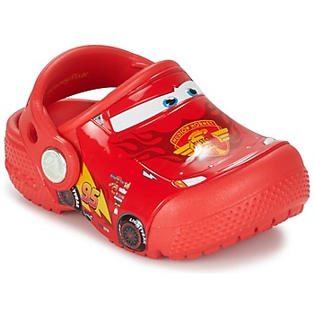 Schoenen Jongens Klompen Crocs Crocs Funlab Light CARS 3 Movie Clog Rood