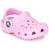 Schoenen Meisjes Klompen Crocs Classic Clog Kids Roze