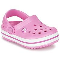 Schoenen Kinderen Klompen Crocs Crocband Clog Kids Roze