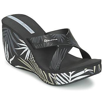 Schoenen Dames Leren slippers Ipanema LIPSTICK STRAPS III Zwart