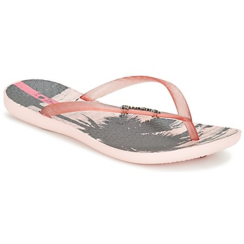 Schoenen Dames Slippers Ipanema WAVE TROPICAL Roze