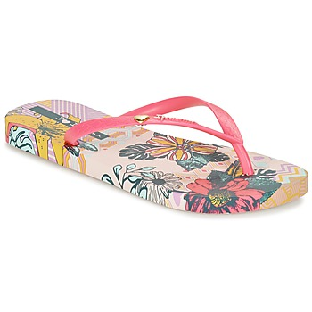 Schoenen Dames Slippers Ipanema I LOVE TRIBAL Roze