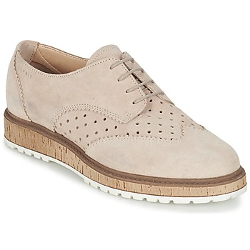 Schoenen Dames Derby Esprit CRISSY LACE UP Nude