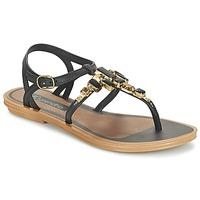 Schoenen Dames Sandalen / Open schoenen Grendha REALCE SANDAL Zwart