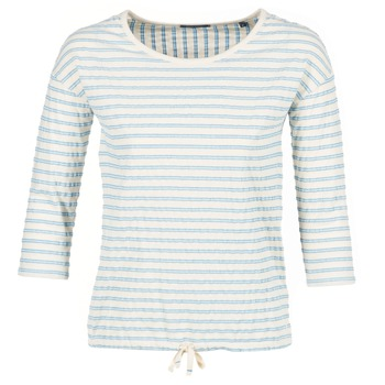 Textiel Dames Tops / Blousjes Marc O'Polo GRASSIRCO Wit / Blauw