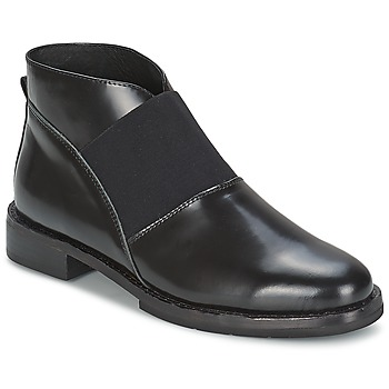 Schoenen Dames Enkellaarzen F-Troupe Chelsea Boot  zwart