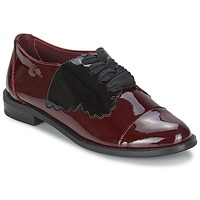Schoenen Dames Derby F-Troupe Butterfly Shoe Burgundy