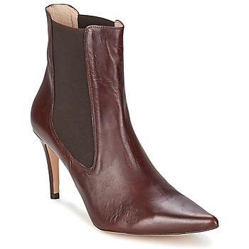 Schoenen Dames Enkellaarzen Alba Moda PIMTY Brown