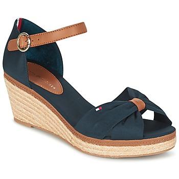 Schoenen Dames Sandalen / Open schoenen Tommy Hilfiger ELBA 40D Marine / Brown