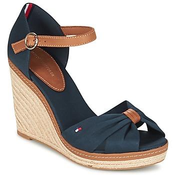Schoenen Dames Sandalen / Open schoenen Tommy Hilfiger ELENA 56D Marine / Brown