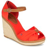 Schoenen Dames Sandalen / Open schoenen Tommy Hilfiger ELENA 56D CORAIL / Brown