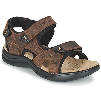 Schoenen Heren Outdoorsandalen Lumberjack EARTH Brown