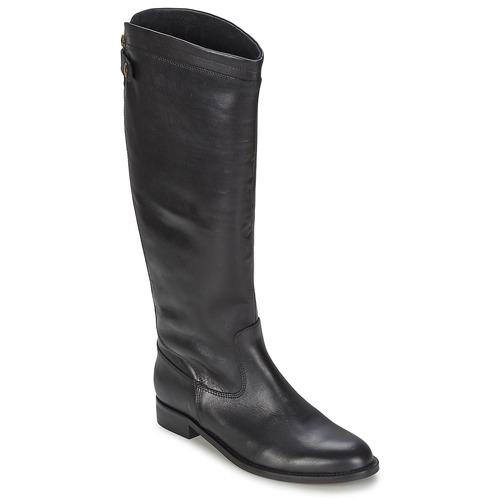 Schoenen Dames Hoge laarzen Jonak BATURINGI Zwart