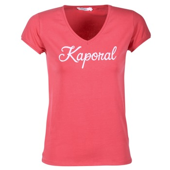 Textiel Dames T-shirts korte mouwen Kaporal NIAM Roze