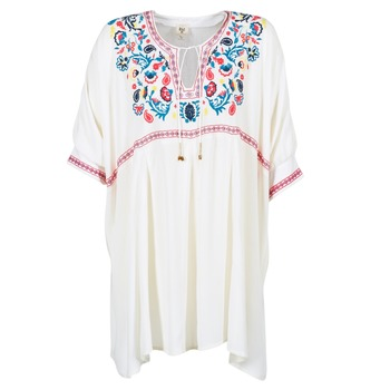 Textiel Dames Korte jurken Billabong MYSTIC DRESS Ecru