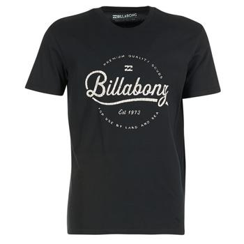 Textiel Heren T-shirts korte mouwen Billabong OUTFIELD TEE SS Zwart