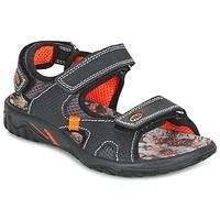 Schoenen Jongens Sandalen / Open schoenen Primigi PACIFIC Zwart